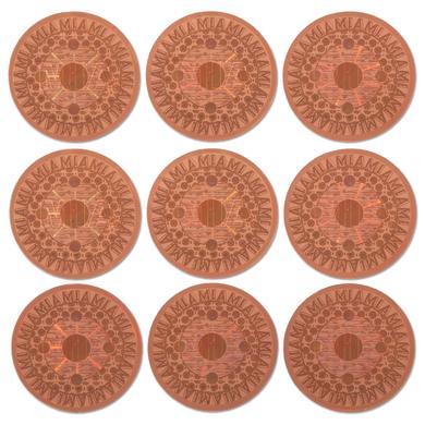 M.I.A. Gold Sticker Sheet