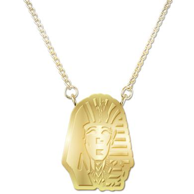 Tyga Sphinx Head Logo Necklace