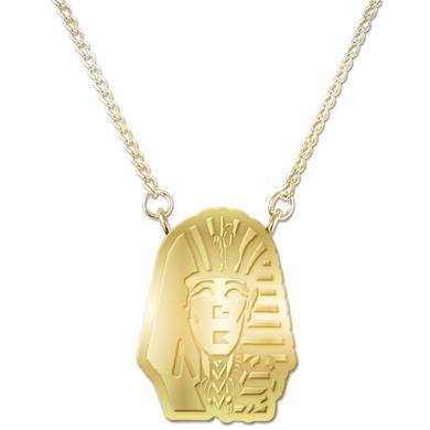 Tyga Sphinx Head Logo Necklace