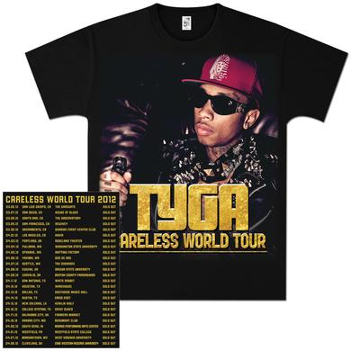 Tyga Careless Tour T-Shirt