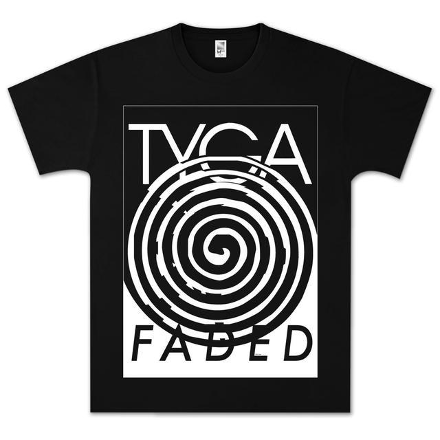 Tyga Faded Spiral T-Shirt