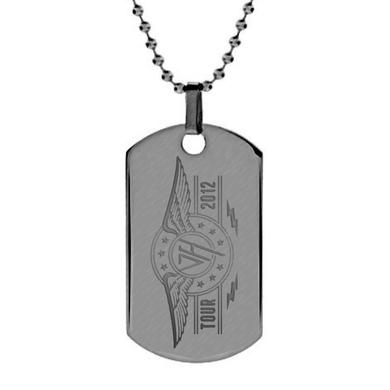 Van Halen Tour Logo Dog Tag