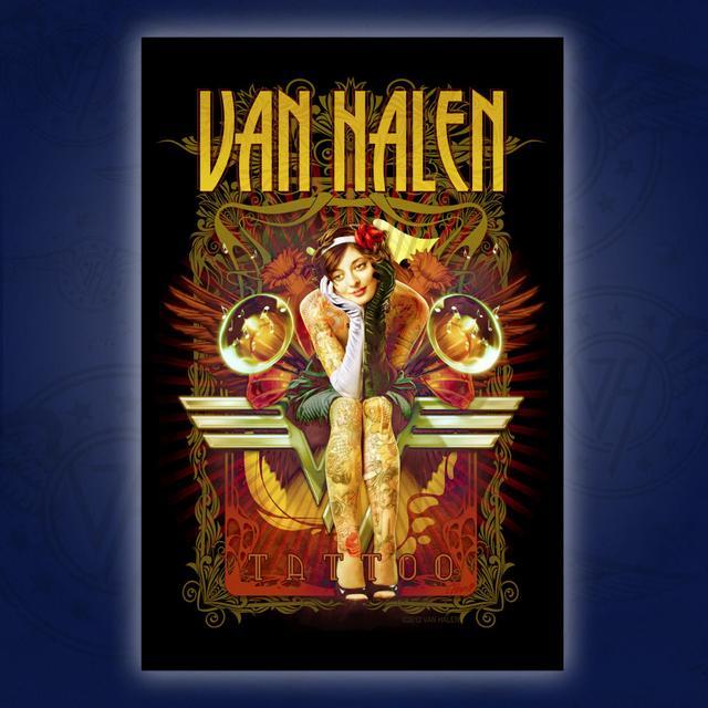 Van Halen Playing Cards
