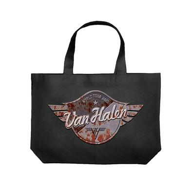 Van Halen Metal Badge World Tour Tote