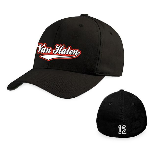 Van Halen White Tail Logo Hat