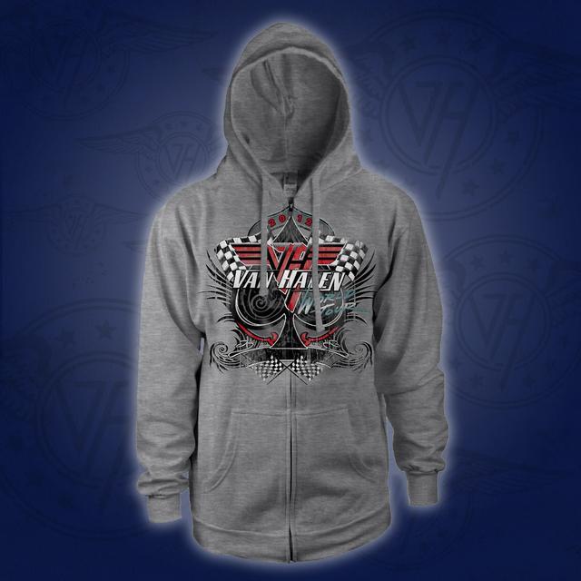 Van Halen World Tour Zip Hoodie