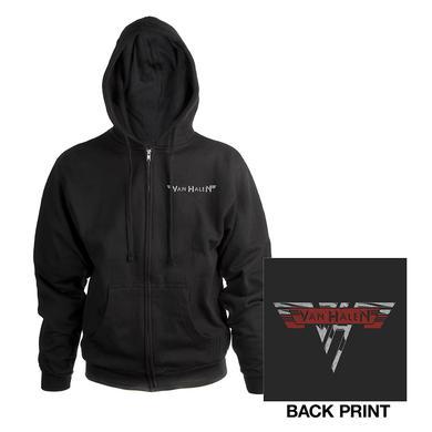 Van Halen Classic Logo Zip Hoodie