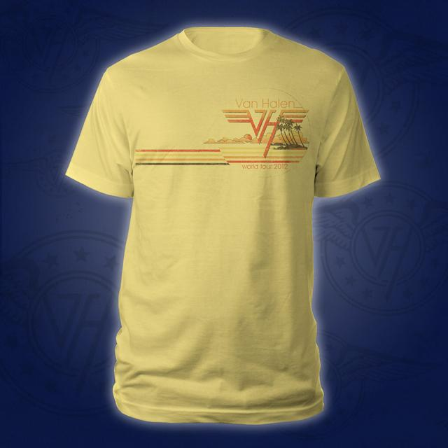 Van Halen Sunset Beach Tee