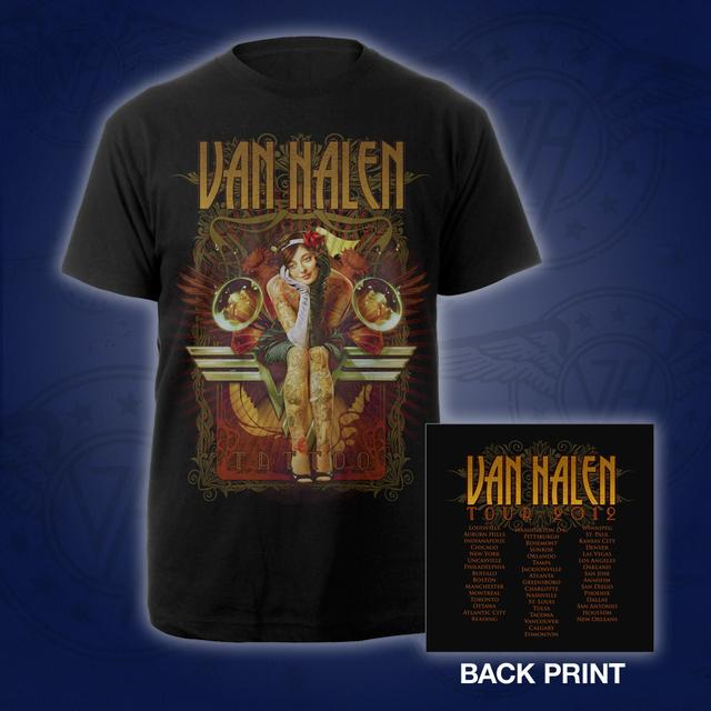 Van Halen Tattoo World Tour Tee