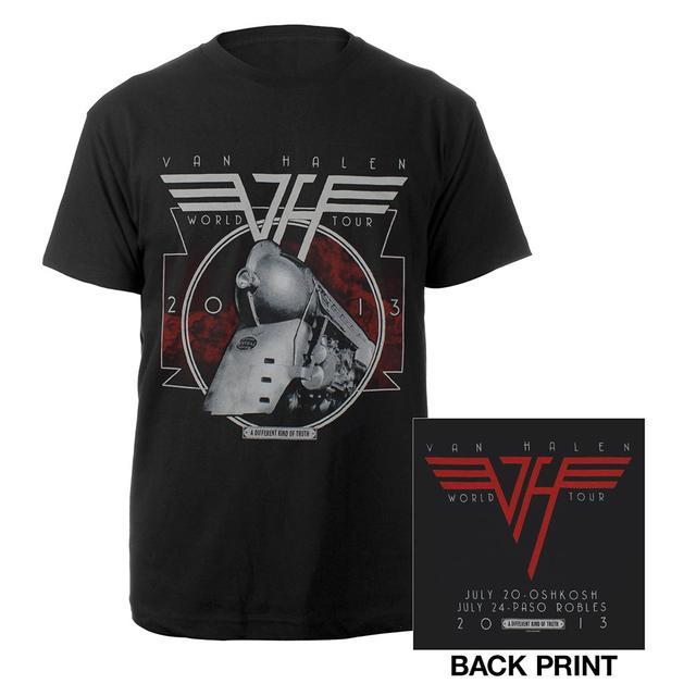 Van Halen A Different Kind Of Truth Tour Tee