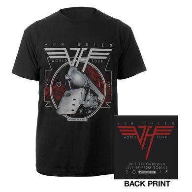 Van Halen A Different Kind Of Truth Tour Tee