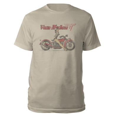 Van Halen Motorcycle Pin-Up Tee