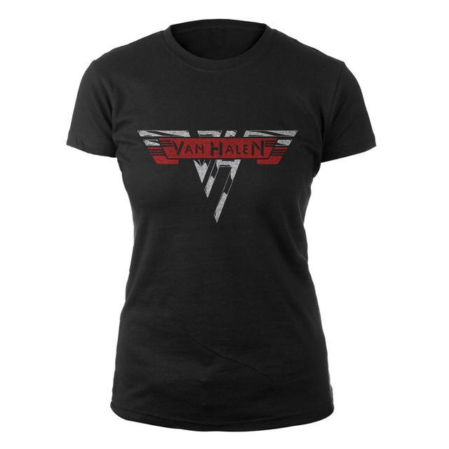 Van Halen Classic Logo Ladies Tee