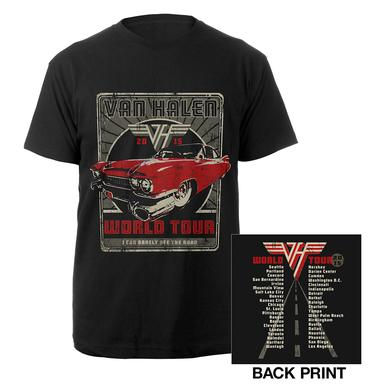 Van Halen Classic Car World Tour Tee