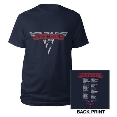 Van Halen Classic Logo Tour Tee
