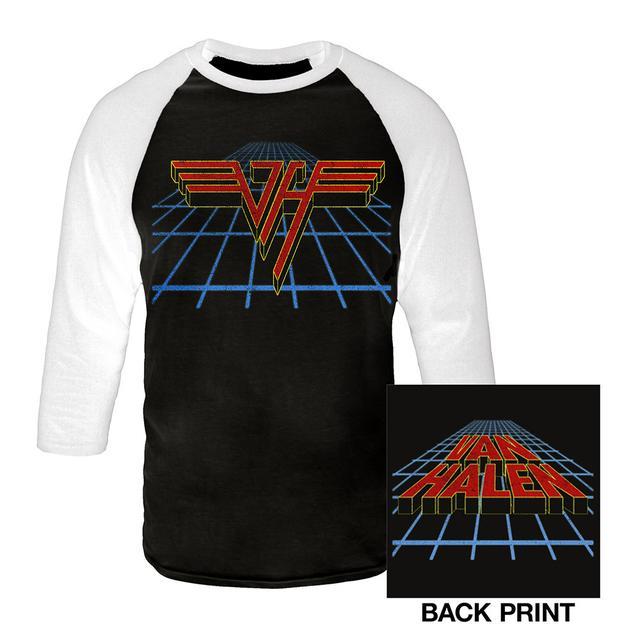 Van Halen Perspective Logo Raglan