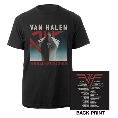 Van Halen World Tour Ship Tee