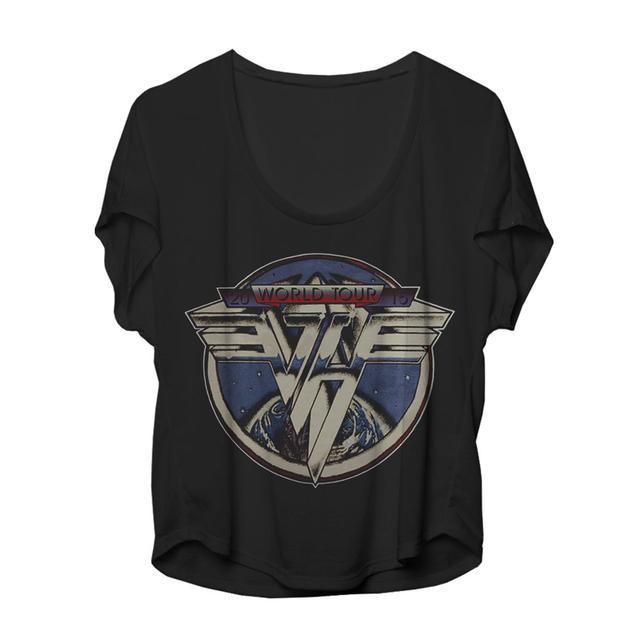 Van Halen Classic Globe Logo Ladies Dolman