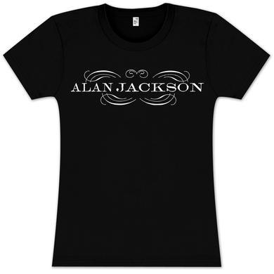Alan Jackson Logo Babydoll T-Shirt