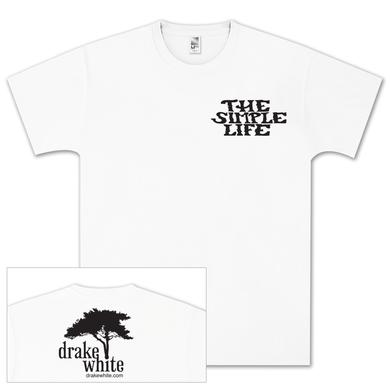 Drake White Simple Life White T-Shirt