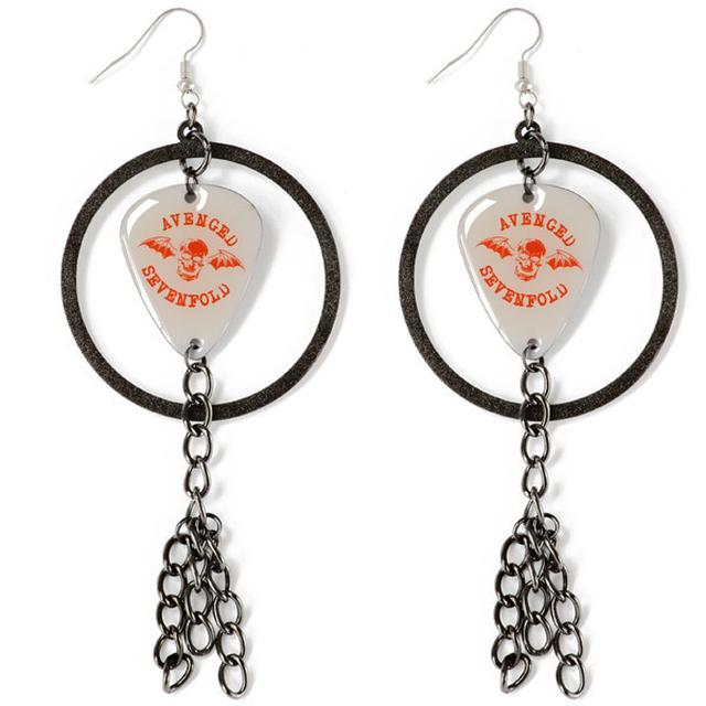 Avenged Sevenfold Guitar Pick Earrings