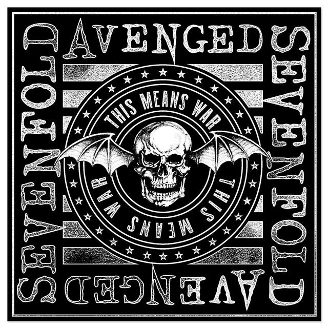 Avenged Sevenfold This Means War Bandana