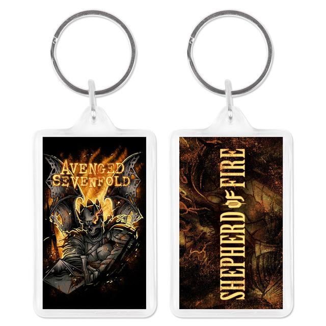 Avenged Sevenfold Sheperd of Fire Acrylic Keychain
