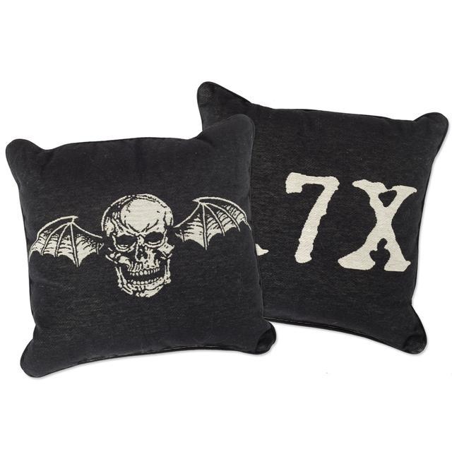 Avenged Sevenfold Deathbat Woven Pillow
