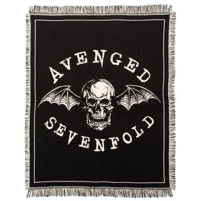 Avenged Sevenfold Deathbat Woven Blanket