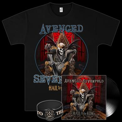 Avenged Sevenfold - Hail To The King Vinyl LP/T-Shirt Bundle
