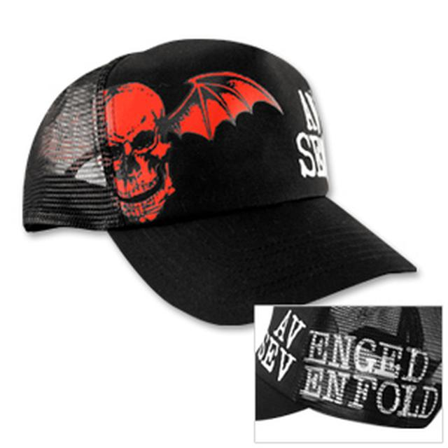 Avenged Sevenfold Allover Print Trucker Hat