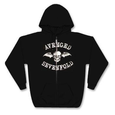 Avenged Sevenfold - Classic Deathbat Zip Hoodie