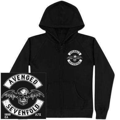 Avenged Sevenfold Deathbat Crest Hoodie