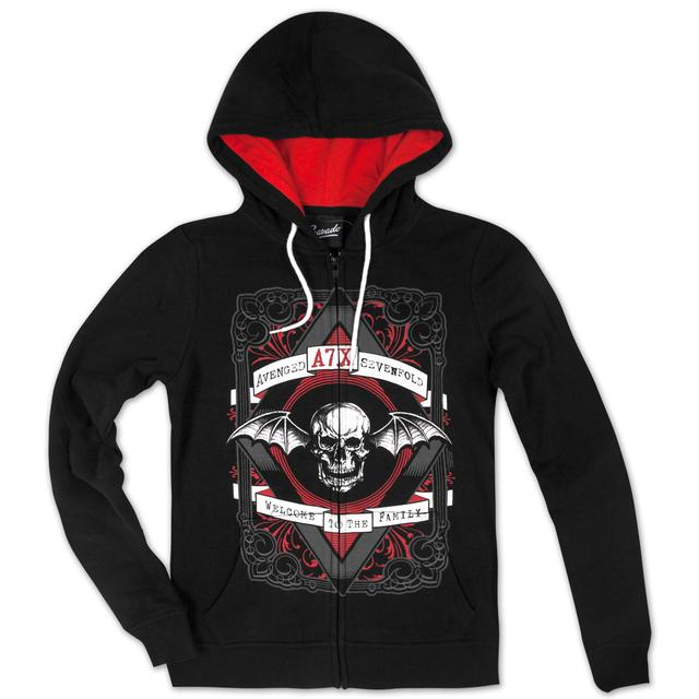 Avenged Sevenfold Welcome To The Family Junior Hoodie