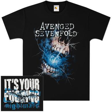 Avenged Sevenfold Nightmare (Censored) T-Shirt