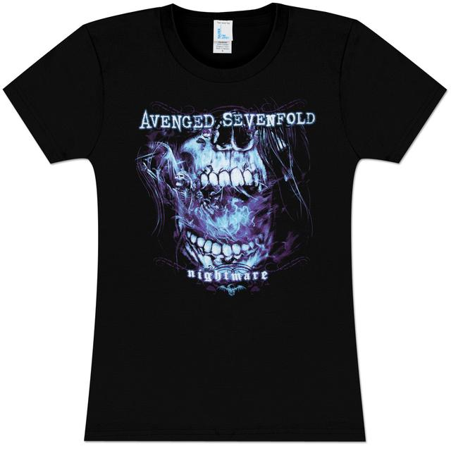 Avenged Sevenfold Nightmare Flourish Girlie T-Shirt