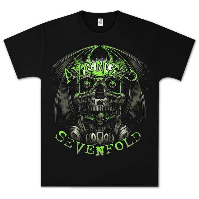 Avenged Sevenfold Engine Skull T-Shirt