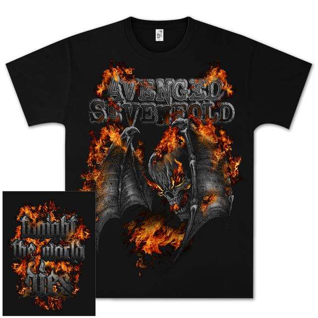 Avenged Sevenfold Tonight Afire T-Shirt