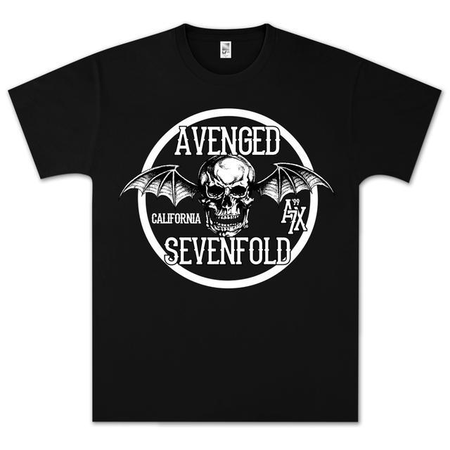 Avenged Sevenfold Cali Crest A7X99 T-Shirt