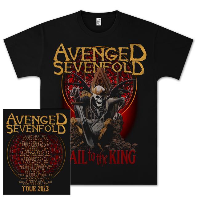 Avenged Sevenfold New Day Rises Tour T-Shirt