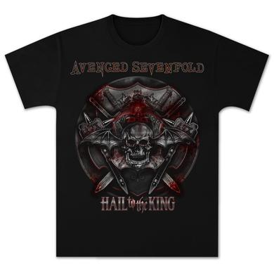Avenged Sevenfold Battle Armor Tour T-Shirt