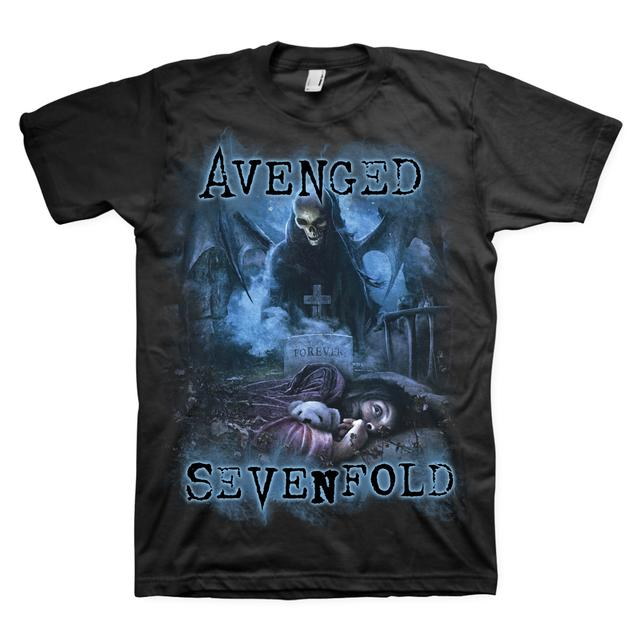Avenged Sevenfold Nightmare Blue Haze T-Shirt
