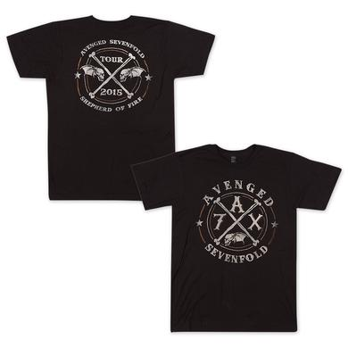 Avenged Sevenfold Crossing Over 2015 T-Shirt