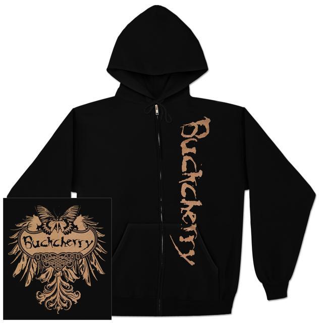 Buckcherry Butterfly Logo Hoodie