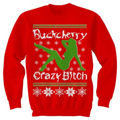 Buckcherry Crazy Bitch Christmas Sweatshirt