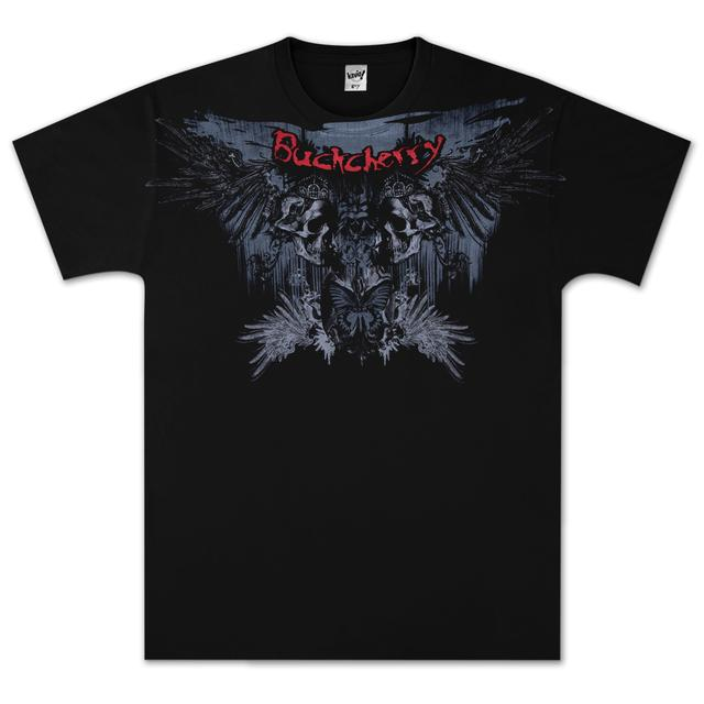 Buckcherry Butterfly Skull & Wings T-Shirt