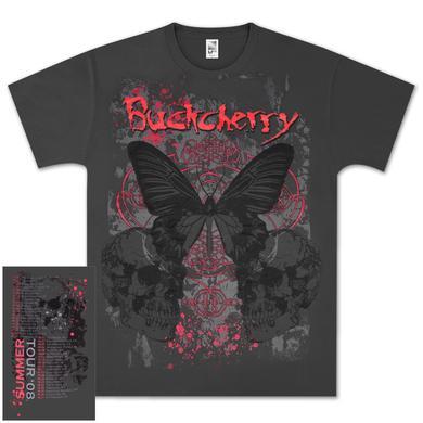 Buckcherry Butterfly Tour T-Shirt