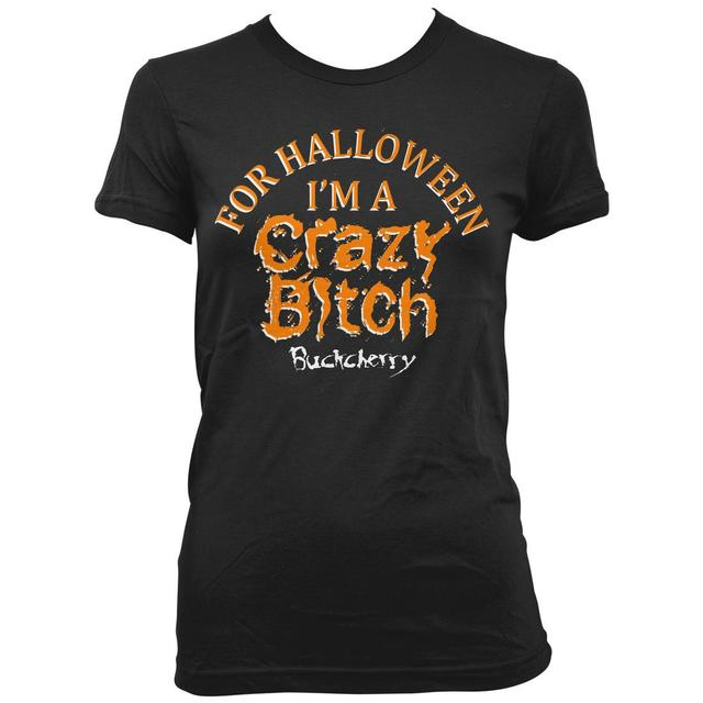 Buckcherry Crazy Bitch Halloween T-Shirt