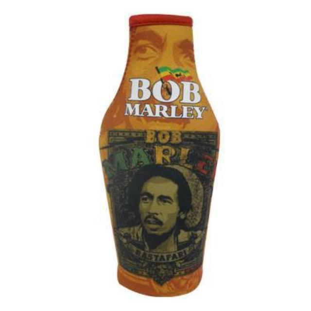 Bob Marley Rastafari Poster Bottle Cooler