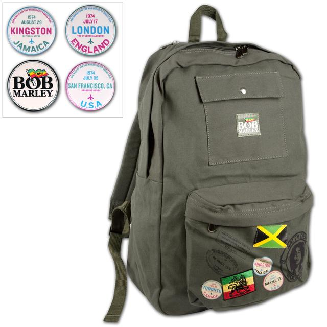 Bob Marley Canvas Backpack